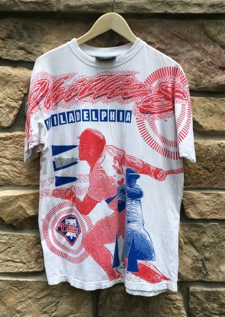 1993 Philadelphia Phillies Iron Knights All Over Print Mlb