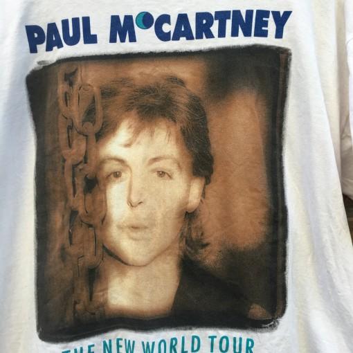 vintage paul mcartney t shirt