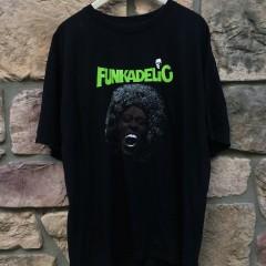 Vintage George Clinton Parliament Funkadelic T shirt