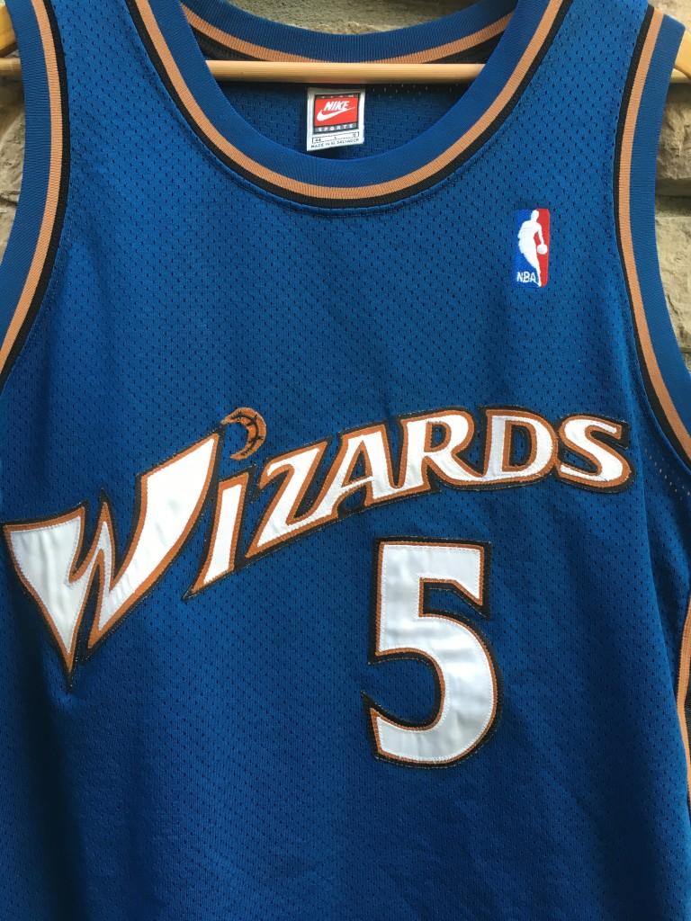 e320639e 1998 Juwan Howard Washington Wizards Authentic Nike NBA Jersey Size ...