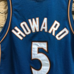Juwan howard fab 5 throwback authentic jersey