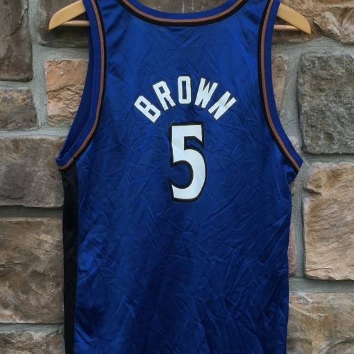 Vintage Kwame Brown Wizards jersey