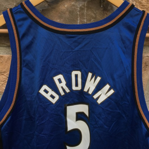 Vintage Kwame Brown champion wizards jersey
