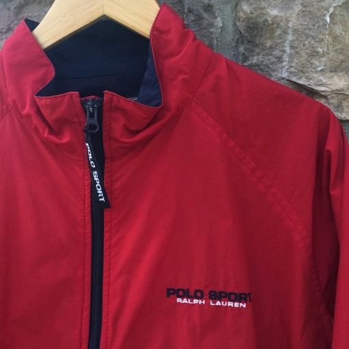 Vintage 90's Polo Sport Windbreaker jacket
