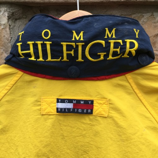 Vintage 90's Tommy Hilfiger Windbreaker jacket