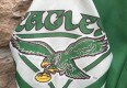 vintage Philadelphia Eagles Chalkline fanimation jacket