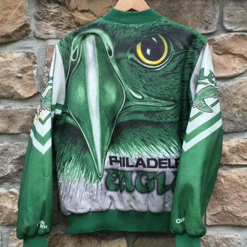 Philadelphia Eagles Chalkline Fanimation jacket size large
