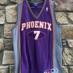 Vintage authentic Champion Kevin Johnson Phoenix Suns NBA jersey