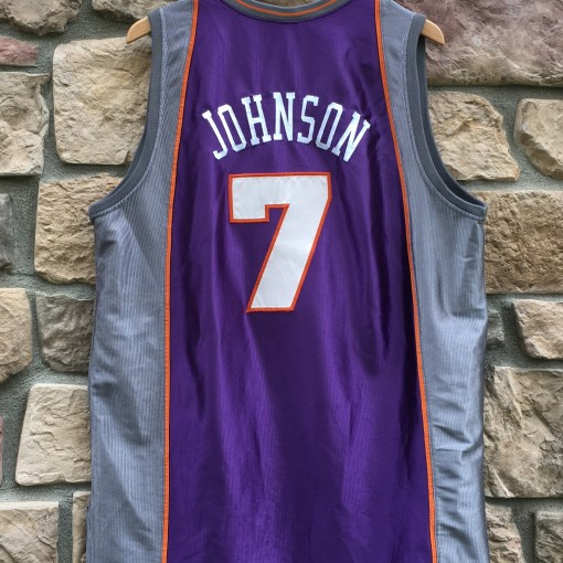 authentic Kevin Johnson Phoenix Suns NBA jersey