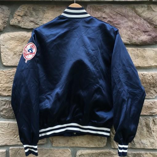 vintage NY yankees satin jacket