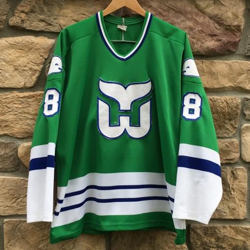 vintage 92 Hartford Whalers Geoff Sanderson CCM jersey size xl
