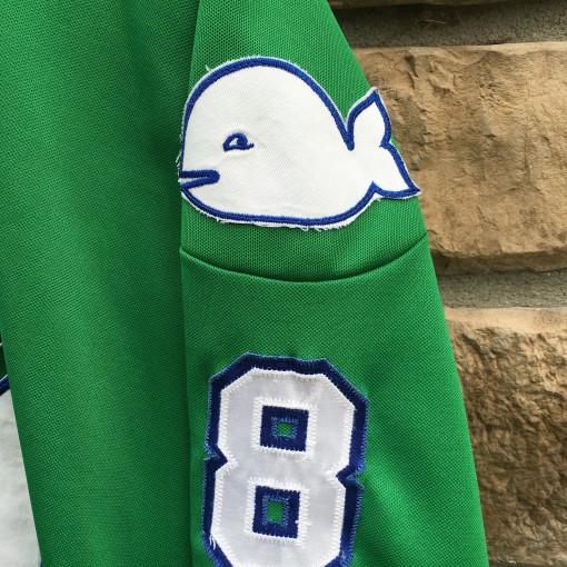 Vintage Sanderson Hartford Whalers jersey