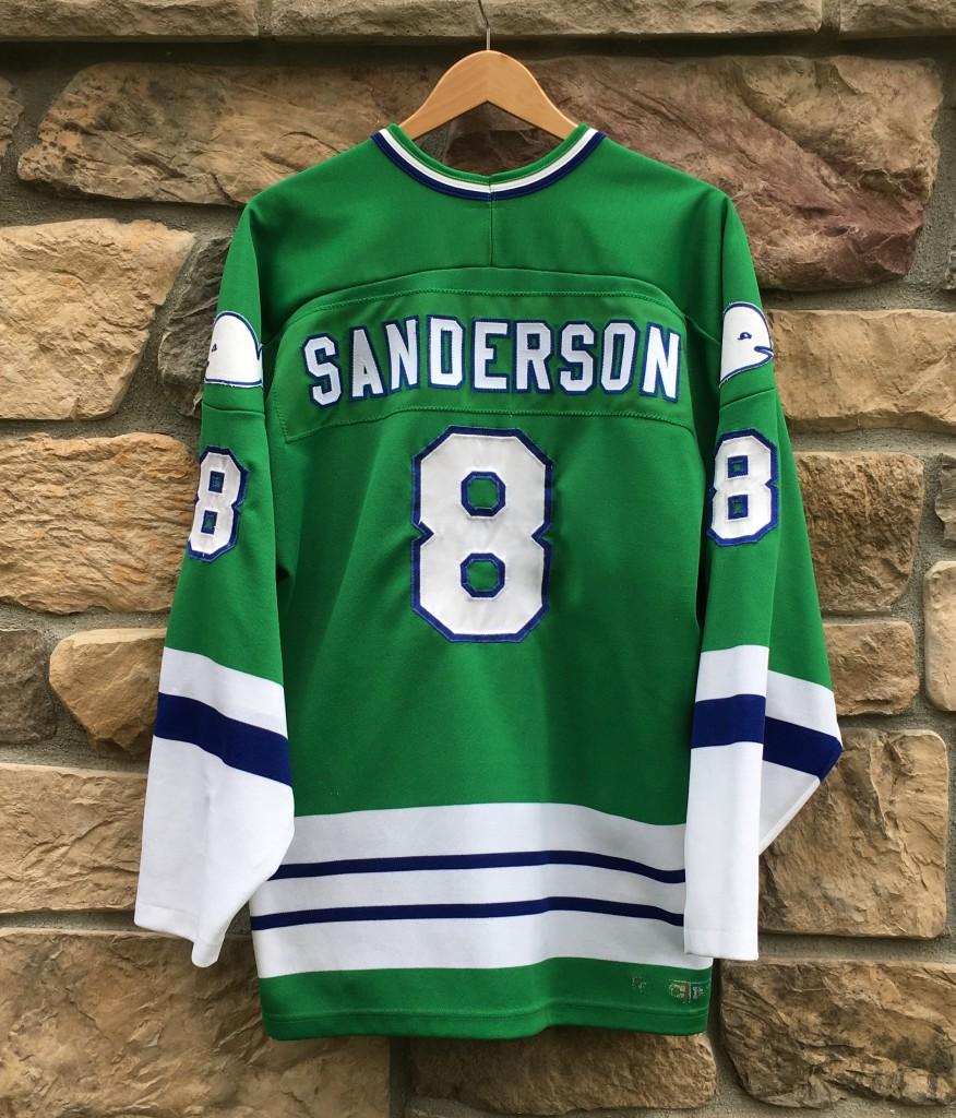 1992 Geoff Sanderson Hartford Whalers CCM NHL Jersey Size XL  e0d21445872