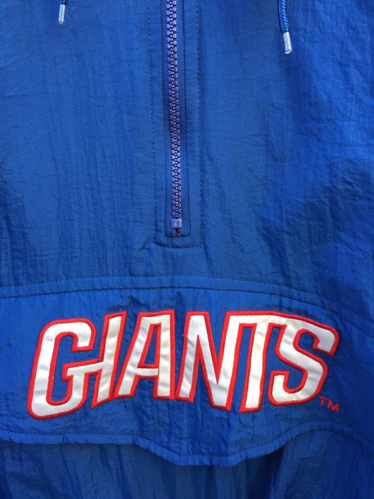 f6b1a90d 90's New York Giants Starter Pullover NFL Jacket Size Medium