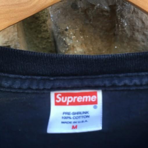 size medium vintage Supreme new york  t shirt
