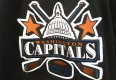 vintage Capitals NHL jersey black 90's