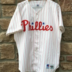 ad5540e53 vintage 90 s Philadelphia Phillies Russell Diamond Collection MLB jersey  size 48