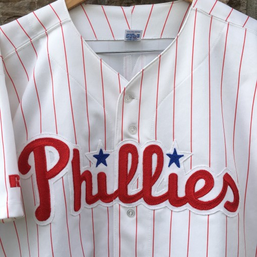 vintage 90's authentic Phillies jersey