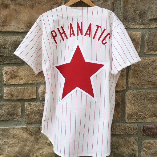 Vintage 90's Authentic Philadelphia Phillies Phillie Phanatic jersey size 48