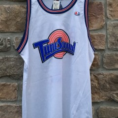 vintage Tune Squad authentic Champion 90's jersey