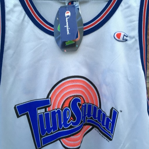 Vinage deadstock 90's Space Jame Tune Squad bugs bunny jersey