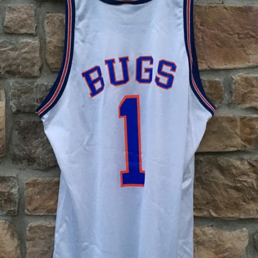 vintage bugs bunny tune squad space jam champion jersey size 48