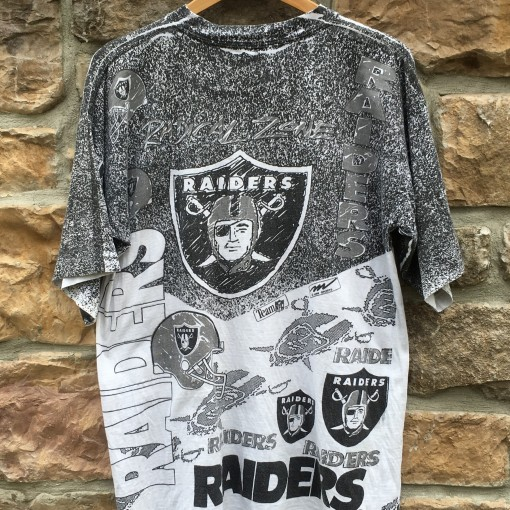 Los Angeles Raiders Magic Johnson All over print nfl t shirt