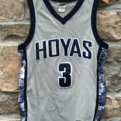 authentic 1995 Nike Allen Iverson Georgetown Hoyas NCAA jersey size 40