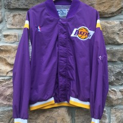 80's Los Angeles Lakers Champion NBA warmup jacket