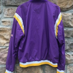 vintage purple Los Angeles Lakers warm up jacket