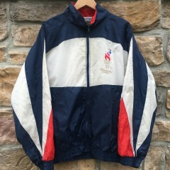 vintage 1996 Atlanta Olympics USA windbreaker jacket