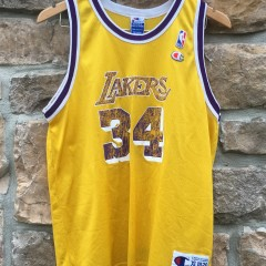 90's Shaq Los angeles lakers champion nba jersey