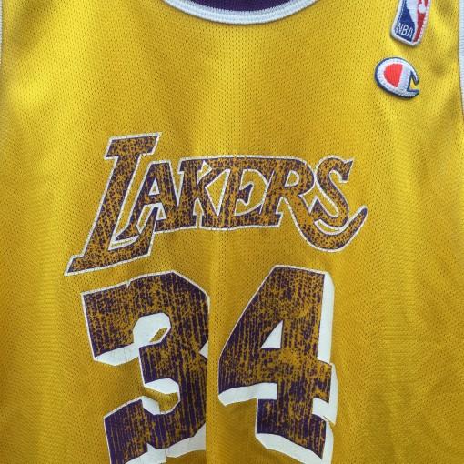 vintage Lakers Champion NBA jersey
