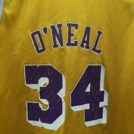 Lakers shaq jersey