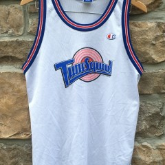 vintage 1996 Tune squad bugs bunny champion space jam jersey youth xl