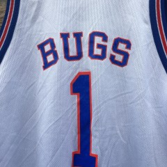 vintage bugs authentic tune squad space jam jersey