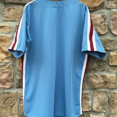 vintage blank philadelphia phillies powder blue jersey