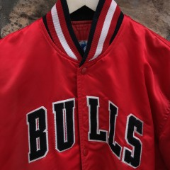 original 90's Bulls Satin starter jacket