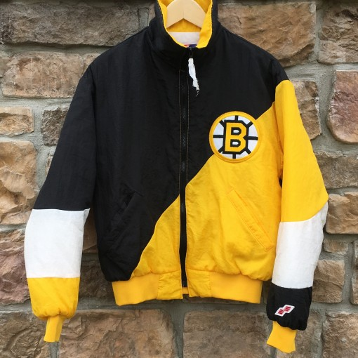 vintage 80's boston bruins swingster NHL jacket size small