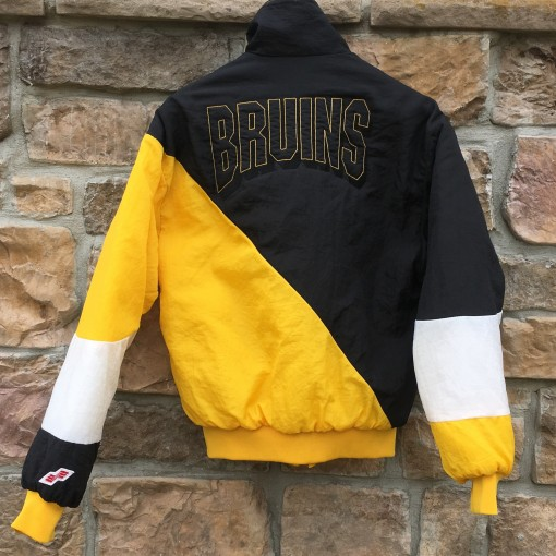 vintage boston bruins nhl jacket