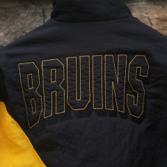vintage bruins jacket