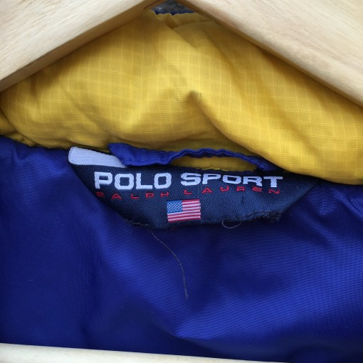 vintage polo sport tag