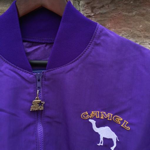 vintage 90's Camel x Starter windbreaker jacket