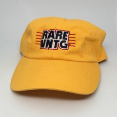 Rare Vntg dad hat yellow champion