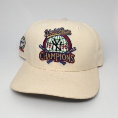 vintage 1996 new york yankees world series champions hat