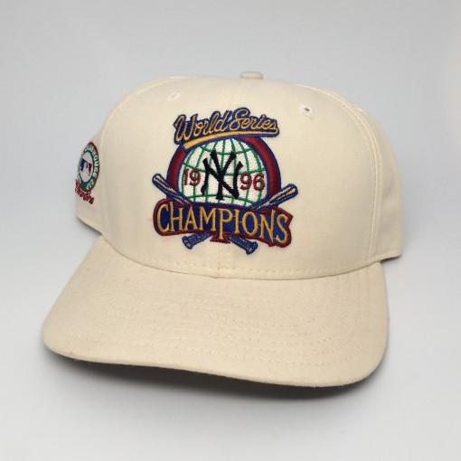 vintage 1996 new york yankees world series champions hat