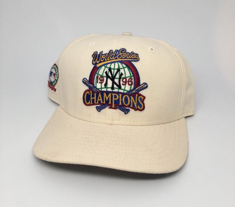 50aad8b041edd4 1996 New York Yankees World Series Champions New Era MLB Snapback ...