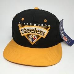 vintage 90's Pittsburgh Steelers NFL snapback aht