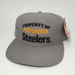 vintage new era property of pittsburgh steelers NFL snapback hat