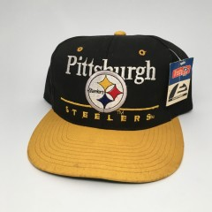 vintage 90's Pittsburgh Steelers NFL snapback hat